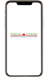 Fresh Farms App Icon on iPhone